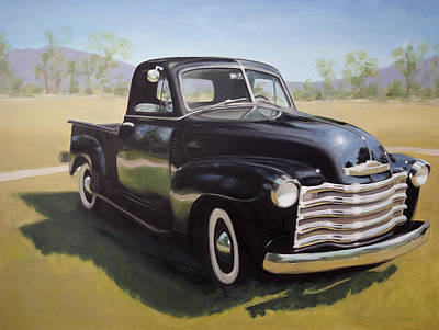 Painting - Le Camion Noir by Elizabeth Jose