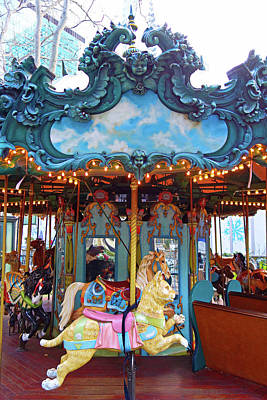 Photograph - Le Carrousel by Robert Meyers-Lussier