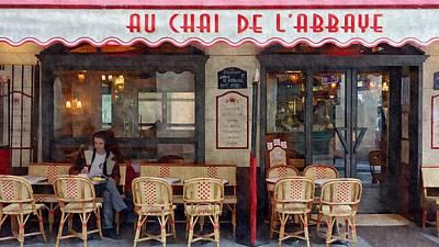 Le Chai Paris  Art Print