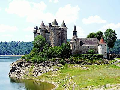 Photograph - Le Chateau De Val - France by Joseph Hendrix