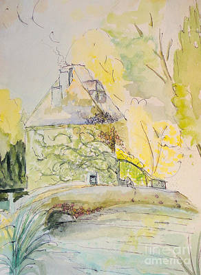 Steele Painting - Le Chateau by Tina Steele Penn