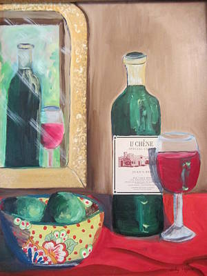 Painting - Le Chene Still Life by Dody Rogers