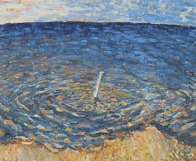 Clous Painting - Le Clou Dans L'eau by Marc Loy