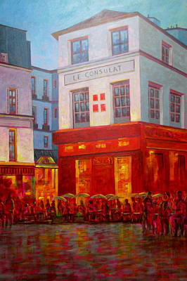 Wall Art - Painting - Le Consulat by Chris MacClure
