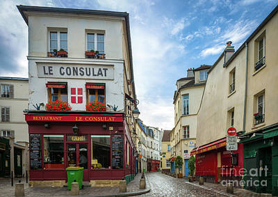 Photograph - Le Consulat by Inge Johnsson