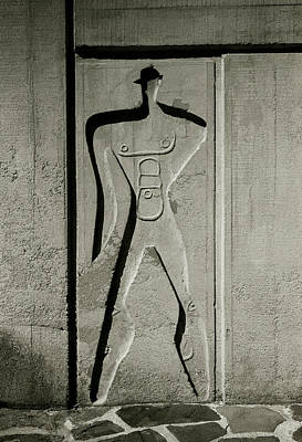Photograph - Le Corbusier Man by Shaun Higson