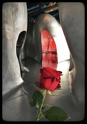 Photograph - Le Georges Restaurant, Centre Georges Pompidou, Paris by Frank DiMarco