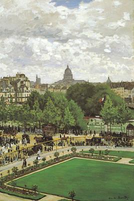 Photograph - Le Jardin De L Infante by Claude Monet