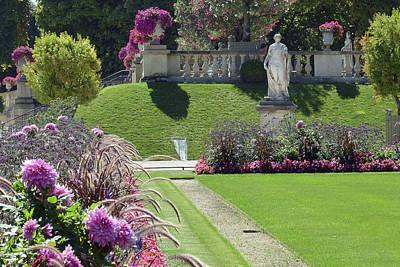 Photograph - Le Jardin Du Luxembourg by Harvey Barrison