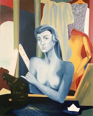 Painting - Le Jasmin Des Poetes by Ksenia Milicevic