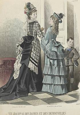 Le Journal Des Dames Et Des Demoiselles Art Print by A Bodin