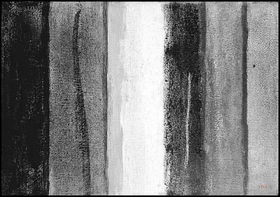 Depression Painting - Le Licenciement - Dismissed-sans Choix by VIVA Anderson