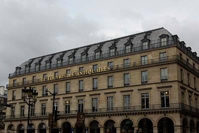 Photograph - Le Louvre Des Antiquaires by Hany J
