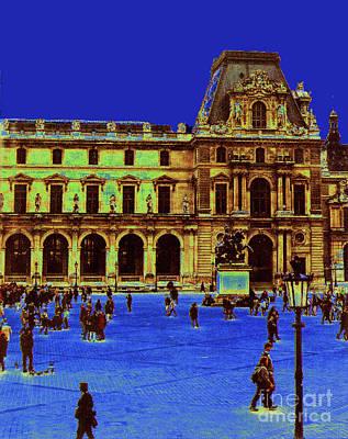 Photograph - Le Louvre by Elizabeth Hoskinson