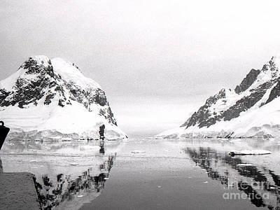 Le Maire Channel Antarctica Art Print