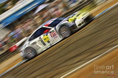 Photograph - Le Mans The Porsche 911 Rsr by Blake Richards