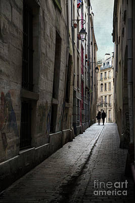 Photograph - Le Marais, Paris by Elena Nosyreva