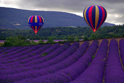 Hot Air Balloon Photograph - Le Matin by John Galbo