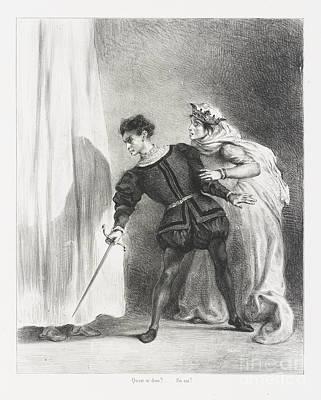 Le Meurtre De Polonius Art Print by MotionAge Designs