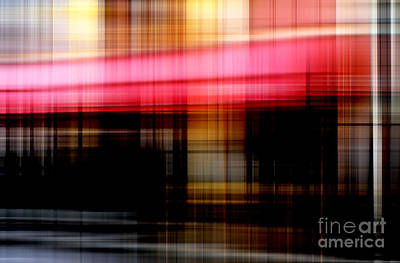 Abstract Handbag Art Digital Art - Le Mistral Cafe by John Rizzuto