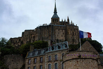 Photograph - Le Mont Saint-michel by Aidan Moran