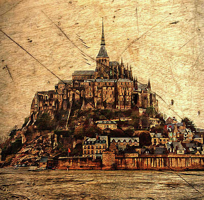 Photograph - Le Mont Saint-michel by Hugh Smith