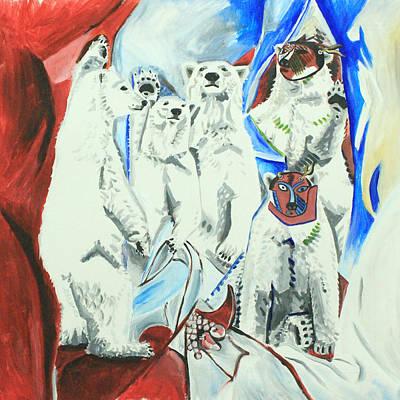 Le Ours Polaires D'avignon Original by Eric Gibbons