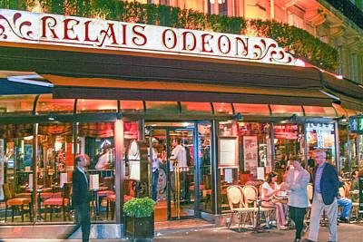 Street Photograph - Le Paris Odeon by Matthew Bamberg