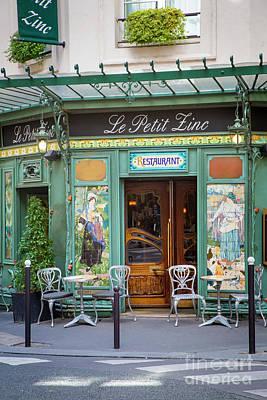 Photograph - Le Petit Zinc by Brian Jannsen