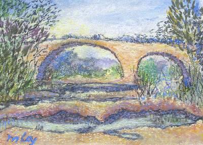 Le Pont Romain Original by Marc Loy