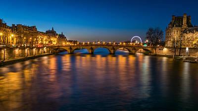 Le Pont Royal Art Print
