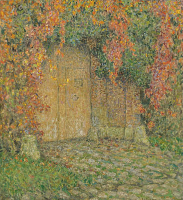 Too Cute For Words - Le Portail by Henri Le Sidaner