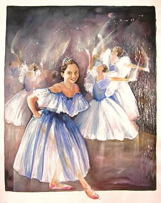 Painting - Le Premier Pas by Miki De Goodaboom