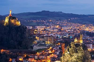 Photograph - Le Puy-en-velay by Stephen Taylor