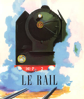Digital Art - Le Rail by Gary Grayson