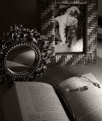 Memories Photograph - Le Ricordanze - G. Leopardi by Piera Polo
