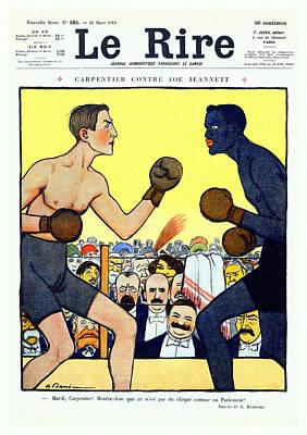 Le Rire 1914 Art Print