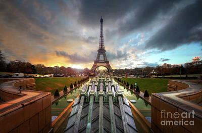 Photograph - Le Roman De La Lumiere Et Du Ciel by Yhun Suarez