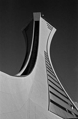 Photograph - Le Stade Olympique De Montreal by Juergen Weiss