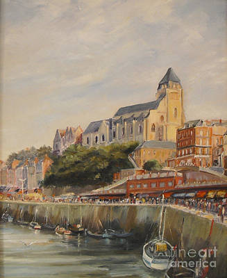 Painting - Le Treport France by Beatrice Cloake