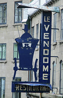 Photograph - Le Vendome by Randall Weidner