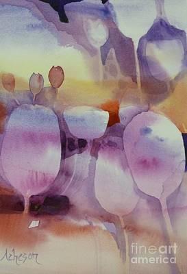 Painting - Le Vent Souffle by Donna Acheson-Juillet