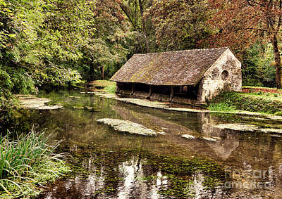 French Laundry Photograph - Le Vieux Lavoir by Olivier Le Queinec