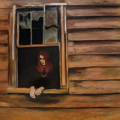 Painting - Lea Henry Broken Window Broken Dreams by Ron Richard Baviello