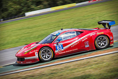 Photograph - Lead Ferrari by Alan Raasch