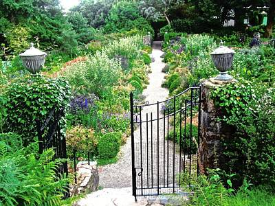 Photograph - Lead Me Down The Garden Path by Stephanie Moore