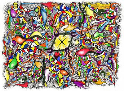 Lead Salad Art Print by Nathaniel Hoffman