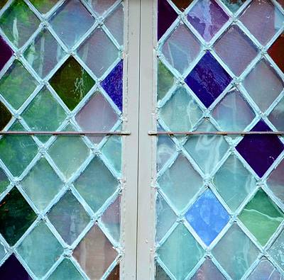 Photograph - Leaded Glass by Corinne Rhode