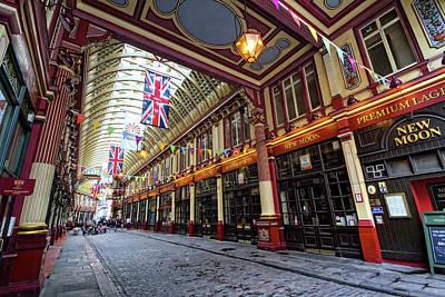 Photograph - Leadenhall Market by Shirley Mitchell
