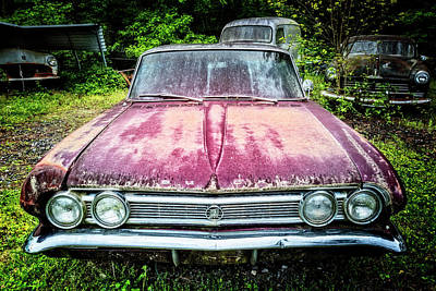 Photograph - Leader Of The Pack 1964 Buick by Debra and Dave Vanderlaan
